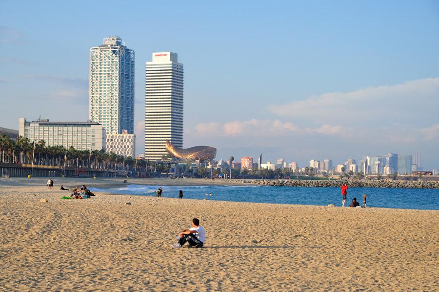 playa barcelona 2