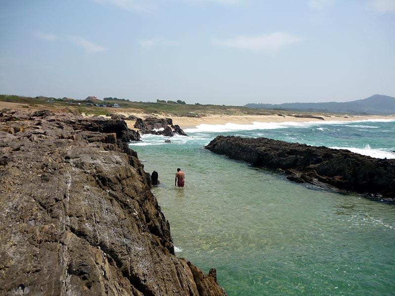 praia as furnas galicia