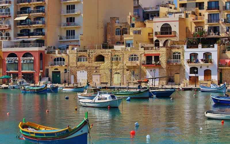 pescadores en Malta