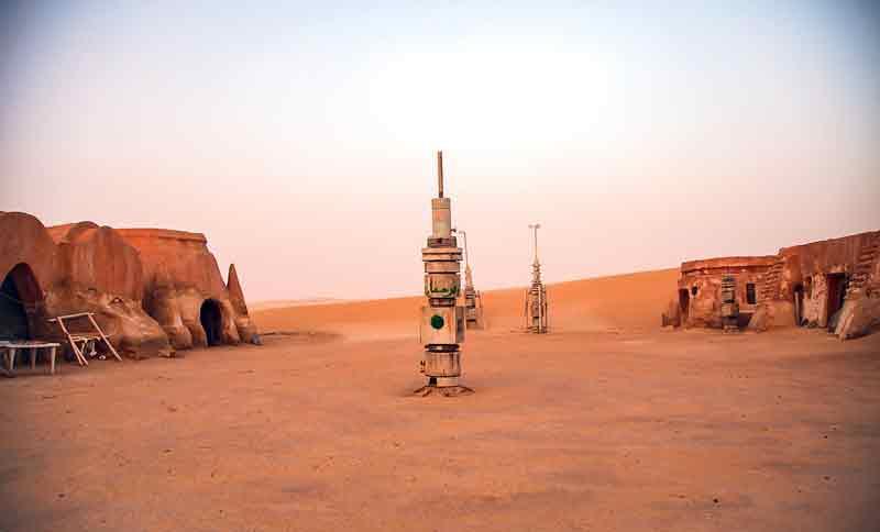 Túnez y Star Wars