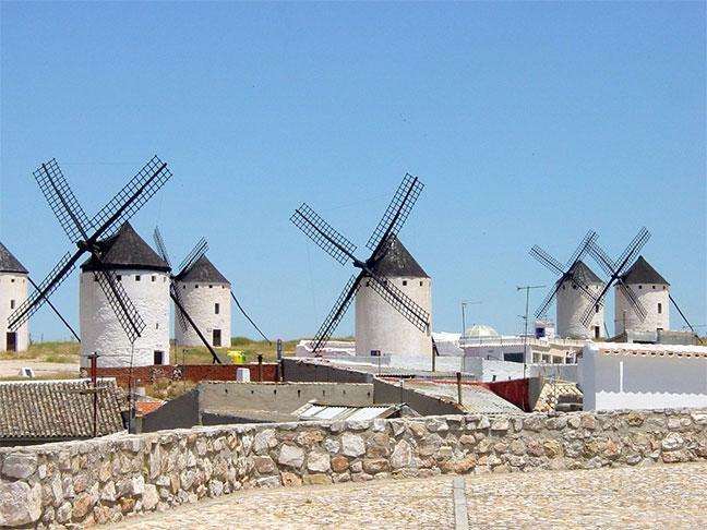 pueblos con encanto de Castilla la Mancha Campo de Criptana