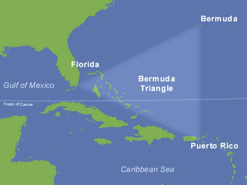 triangulo de las bermuda