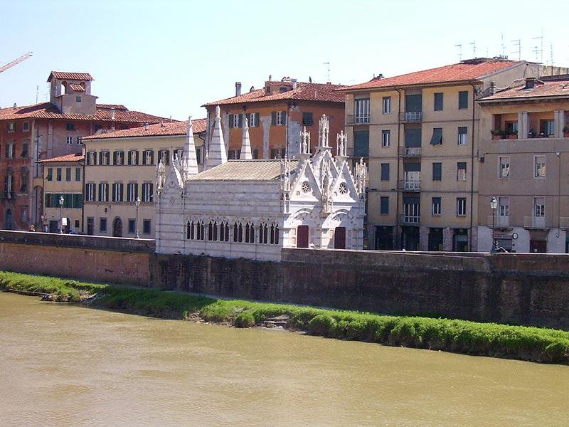 Iglesia en Pisa