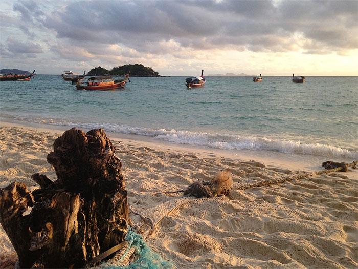 pesca en Tailandia